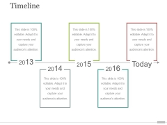 timeline ppt powerpoint presentation ideas demonstration