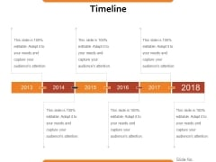 Timeline Ppt PowerPoint Presentation Infographics Slide
