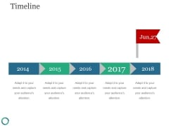 Timeline Ppt PowerPoint Presentation Introduction