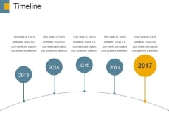 Timeline Ppt PowerPoint Presentation Model Deck