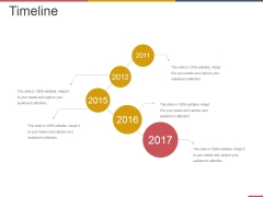 Timeline Ppt PowerPoint Presentation Outline Slideshow