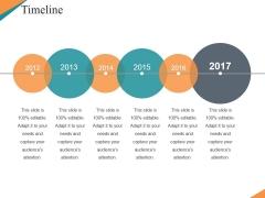 Timeline Ppt PowerPoint Presentation Show Gridlines