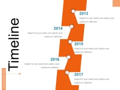 Timeline Ppt PowerPoint Presentation Show Objects