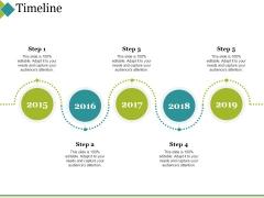 Timeline Ppt PowerPoint Presentation Slides Gridlines