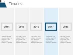 Timeline Ppt PowerPoint Presentation Slides Introduction