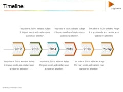 Timeline Ppt PowerPoint Presentation Slides Portrait
