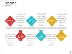 Timeline Ppt PowerPoint Presentation Slides Shapes