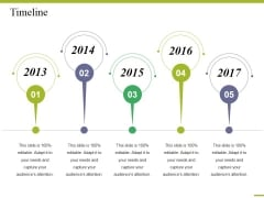 Timeline Ppt PowerPoint Presentation Styles Example