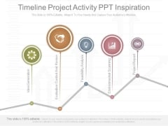 Timeline Project Activity Ppt Inspiration