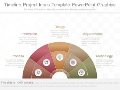 Timeline Project Ideas Template Powerpoint Graphics