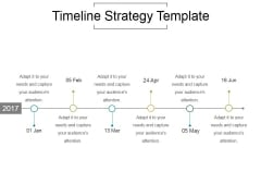 Timeline Strategy Template Ppt PowerPoint Presentation Good