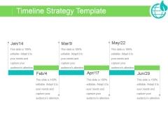 Timeline Strategy Template Ppt PowerPoint Presentation Introduction
