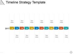 Timeline Strategy Template Ppt PowerPoint Presentation Slides Smartart
