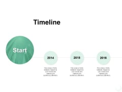 Timeline Three Year Process Ppt PowerPoint Presentation Icon Tips