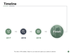 Timeline Three Year Process Ppt PowerPoint Presentation Model Elements