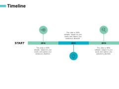 Timeline Three Years Ppt PowerPoint Presentation Infographics Microsoft