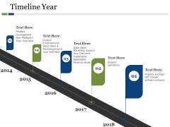 Timeline Year Ppt PowerPoint Presentation Portfolio Model