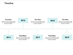 Timeline Years Roadmap Ppt PowerPoint Presentation Professional Images