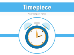 Timepiece Smartphone Arrow Ppt PowerPoint Presentation Complete Deck
