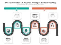 Tiredness Prevention Self-Alignment Techniques Half Yearly Roadmap Ideas