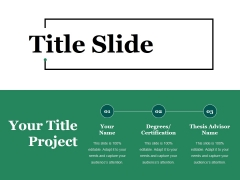 Title Slide Ppt PowerPoint Presentation Icon Tips