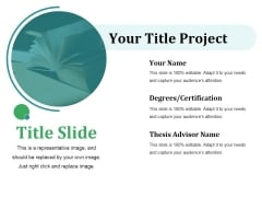 Title Slide Ppt PowerPoint Presentation Ideas Pictures