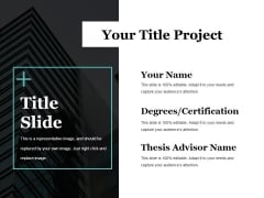 Title Slide Ppt PowerPoint Presentation Infographics Slides