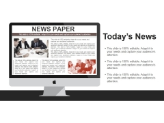 Todays News Ppt PowerPoint Presentation Inspiration Guide
