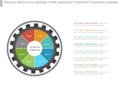 Tools And Platforms For Candidate Profile Assessment Powerpoint Presentation Examples