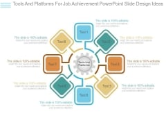 Tools And Platforms For Job Achievement Powerpoint Slide Design Ideas