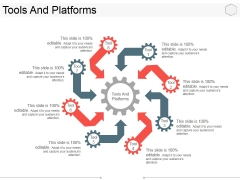 Tools And Platforms Ppt PowerPoint Presentation Layouts Background Designs