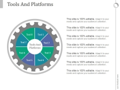 Tools And Platforms Ppt PowerPoint Presentation Slides