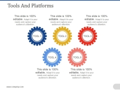 Tools And Platforms Ppt PowerPoint Presentation Styles Display