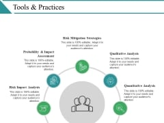 Tools And Practices Ppt PowerPoint Presentation Infographics Slide Download