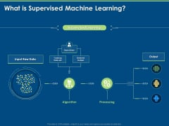 Tools And Techniques Of Machine Learning What Is Supervised Machine Learning Ppt Icon Infographics PDF