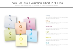 Tools For Risk Evaluation Chart Ppt Files