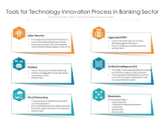 Tools For Technology Innovation Process In Banking Sector Ppt PowerPoint Presentation Show Inspiration PDF
