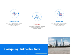 Tools To Identify Market Opportunities For Business Growth Company Introduction Graphics PDF