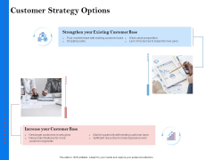 Tools To Identify Market Opportunities For Business Growth Customer Strategy Options Mockup PDF