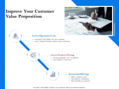 Tools To Identify Market Opportunities For Business Growth Improve Your Customer Value Proposition Pictures PDF