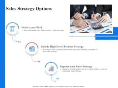 Tools To Identify Market Opportunities For Business Growth Sales Strategy Options Diagrams PDF