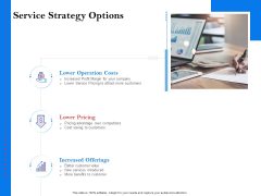Tools To Identify Market Opportunities For Business Growth Service Strategy Options Slides PDF