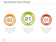 Top Channel Sales People Ppt PowerPoint Presentation Background Designs