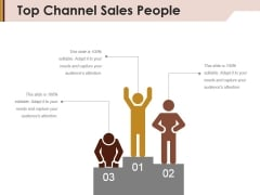 Top Channel Sales People Ppt PowerPoint Presentation Model Guidelines