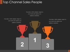Top Channel Sales People Ppt PowerPoint Presentation Model Images