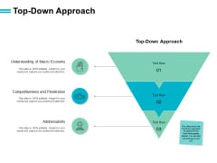 Top Down Approach Economy Ppt PowerPoint Presentation File Display