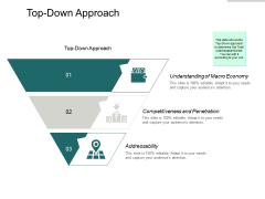Top Down Approach Ppt PowerPoint Presentation Infographic Template Example