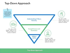 Top Down Approach Ppt PowerPoint Presentation Layouts Layout