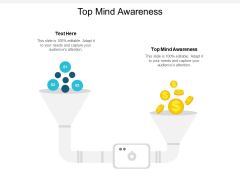 Top Mind Awareness Ppt PowerPoint Presentation Icon Images Cpb