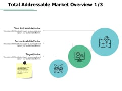 Total Addressable Market Overview Service Ppt PowerPoint Presentation File Rules